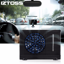 12V Car Portable Air Conditioner Conditioning Auto Evaporative Refrigeration Cooler Cooling Fan Water Ice Compressor Fridge Cold(China)