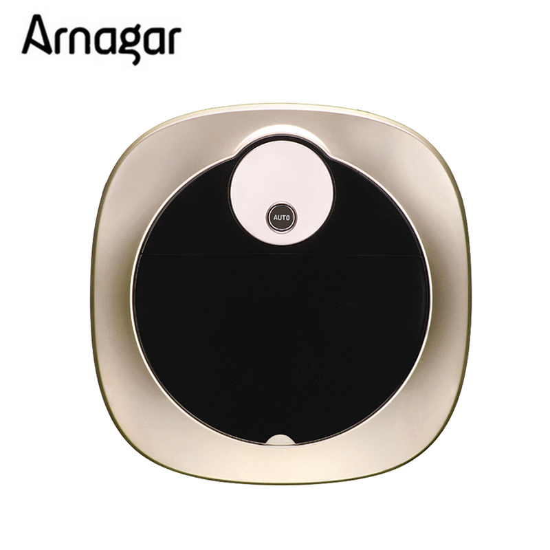 Vacuum Cleaner Robot for home Aspirador Ultrasonic Radar Detection, Dry Wet Mop,Remote control,Automatic Recharge Cleaner(China)