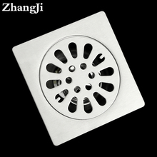 Bathroom Deodorant Common Floor Drain Cover Sink Catcher Kitchen Stainless Steel Waste Grates Shower Overflow Drain Floor ZJ014