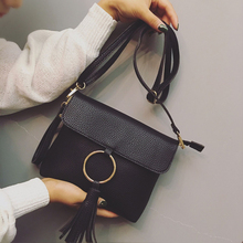 The New Trend of Women's Shoulder Bag Lapel Pattern Tunic Simplicity Ladies Handbags Fashion Small Fresh Female Messenger Bag