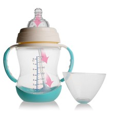 Baby Feeding Bottle Nuk 240ml Infant Product Sippy Cup Feeder Milk Water PP Baby Bottle Handle Kids Cup Infant Standard Caliber