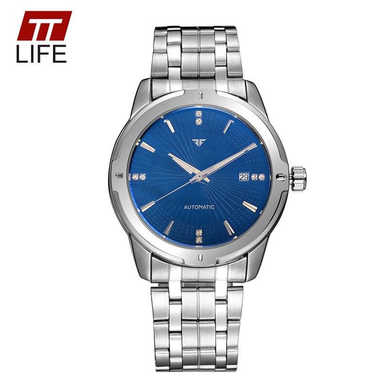 Fashion TTLIFE Top Brand Gentlemen Mechanical Calendar Luxury Quartz Watches Mens Wristwatches Shock Resistant Business Watch<br><br>Aliexpress