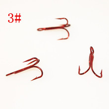 KKWEZVA products 20pcs 3# listed,Cost price sale, just for sales and credibility fishing treble hooks the perfect treble hook(China)