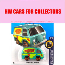 New Arrivals 2017 Hot Wheels 1:64 the mystery machine Metal Diecast Cars Collection Kids Toys Vehicle For Children Juguetes(China)
