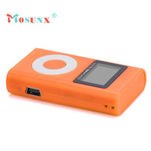 Mosunx Factory Price USB Mini touch MP3 Player LCD Screen Support 32GB Micro SD TF Card Nov8 Drop Shipping