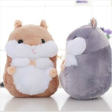 1pcs 38cm Kawaii Hamster Plush Toys Plush Dall Hamster Stuffed Toy for Children Kids Christmas Gift High Quality