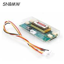 SNBMW Hot Selling 4 lamp universal inverter Small Mouth 12V-30V Output CCFL Inverter For 15-24 inch LCD Dispalyer With 4 Cord(China)
