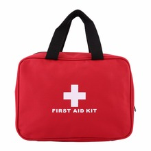 Survival First Aid Kit Bag Emergency Medical Storage Case Sports Self-Medicine Wrap Gear For Outdoor Camping Home Care 25*18*8cm(China)