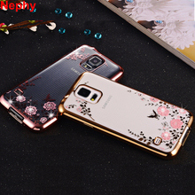 Nephy Luxury Case For Samsung Galaxy S3 S4 S5 Neo S 3 4 5 Duos Mobile Phone Cover TPU Silicon Ultrathin Glitter Housing Casing(China)
