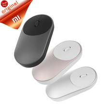 Original Xiaomi Mouse XMSB01MW Portable Wireless In Stock Mi Optical Bluetooth 4.0 RF 2.4GHz Dual Mode Connect Mi Office Mouse(China)