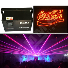 RGB 1400 kinds of pattern Laser Projector Club Lighting Party Disco Laser Light Stage Effect LED Laser Show System