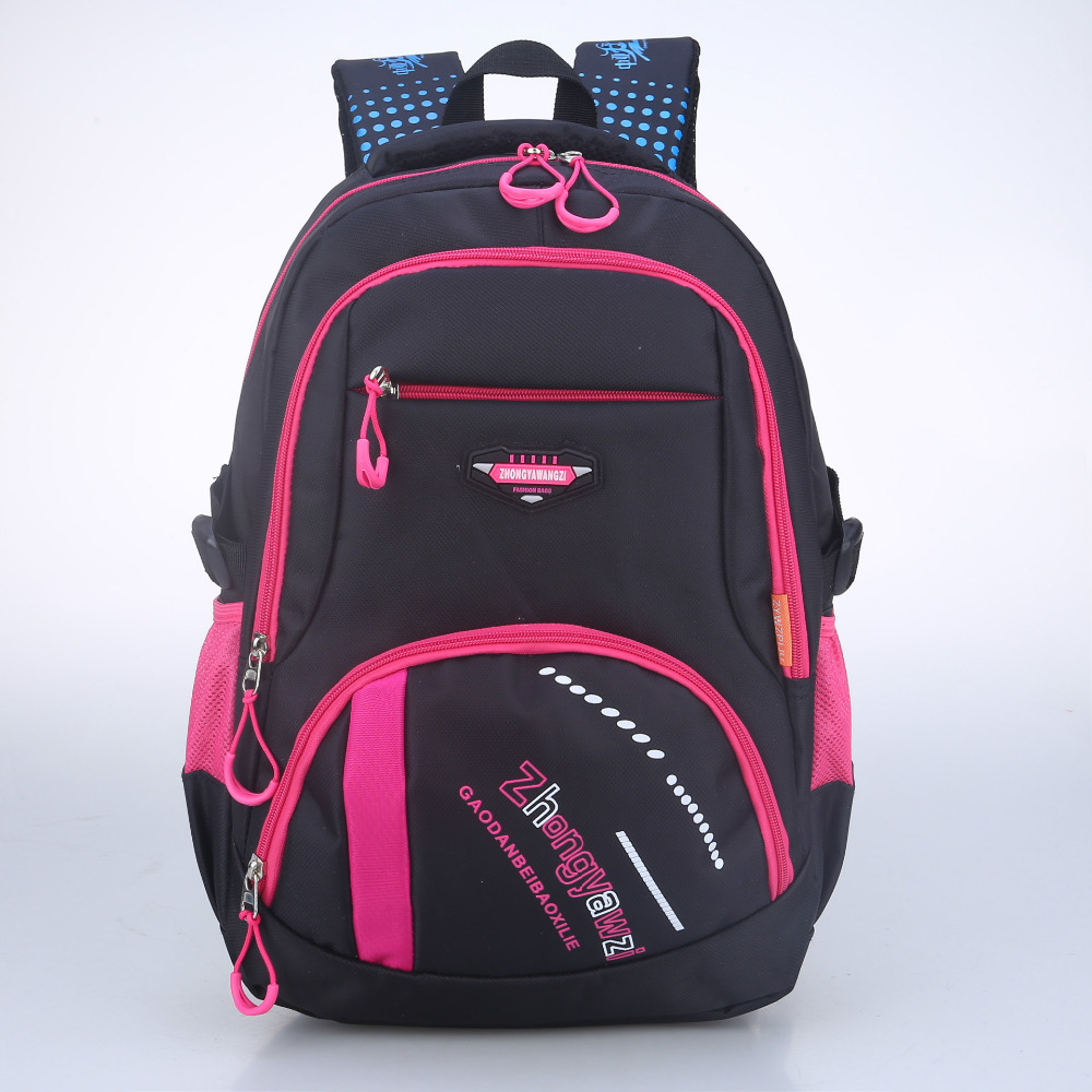 2017 New children Fashionable College Wind schoolbag Adolescent Travel Orthopedic backpack primary school students school bag<br><br>Aliexpress