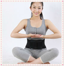Free Shipping Adjustable Self-Heating Magnetic waist support with function, back protector with strength belt at low price