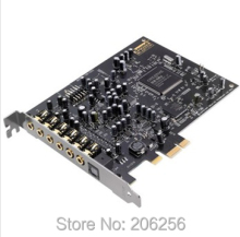 New Original Brand Creative Sound Blaster Audigy 5 PCI-E internal sound card 7.1 Channels 106dB SNR Dual microphone inputs
