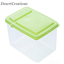 1PC Kitchen Clamshell Food Storage Box Storage Tank Airtight Containers Sealed Cans Of Grains