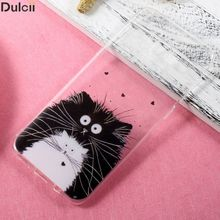 Dulcii Cover for Galaxy S8 Plus CellPhone Bag Ultra-thin Patterned TPU Mobile Casing for Samsung Galaxy S8 Plus Shell Capa- Cats