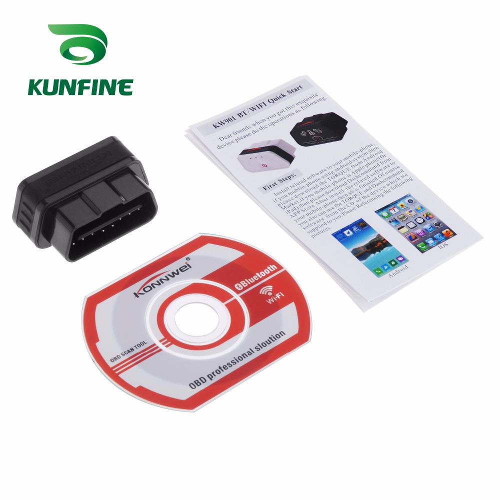 Auto Diagnostic Tool Car engine code Scanner Vehicle fault reader KF-A1184_8214