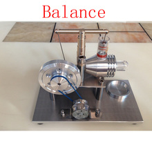 Cool !Miniature Stirling engine 'Balance' Stirling engine engine generator model hobby Educational Toy Kits