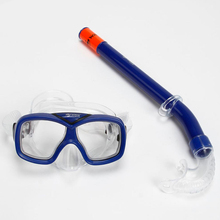 H449 Free shipping Teenagers snorkeling goggles + breathing tube suit snorkeling equipment Children diving Sambo