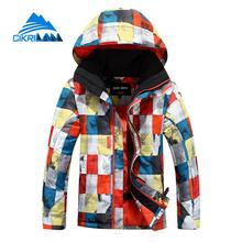 Hot Sale Kids Winter Waterproof Windstopper Snowboard Ski Outdoor Jacket Boys Breathable Skiing Hiking Cotton Padded Parka Coat