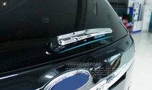 Accessories Car Styling Glossy Chrome Rear Window Rain Wiper Cover Trim For Ford Explorer 2011 2012 2013 2014 2015 2016(China)