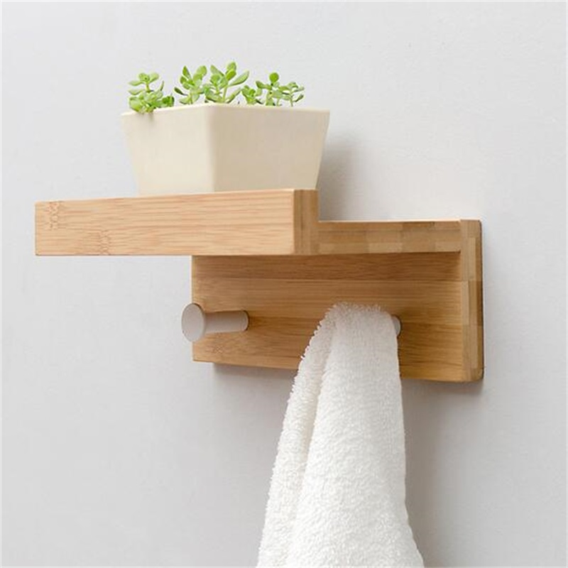 Multipurpose Wall commodity shelf Wall mounted hook Wall bracket<br>
