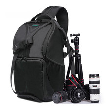 2017 Video Photo Digital Camera Shoulders Padded Backpack Bag Case Waterproof Shockproof Small Bags for Canon for Nikon DSLR 1PC