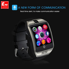 Senbono Q18 Smart Watch with Camera Sync SMS, WhatsApp Facebook MP3 Support TF Card Adapter Alarm Intelligent Android SmartWatch