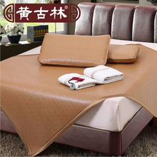Cool!! China Vine weave seats 1.8 meters three sets of 1.2 double bed mat mat 1.5 folding mat(China)