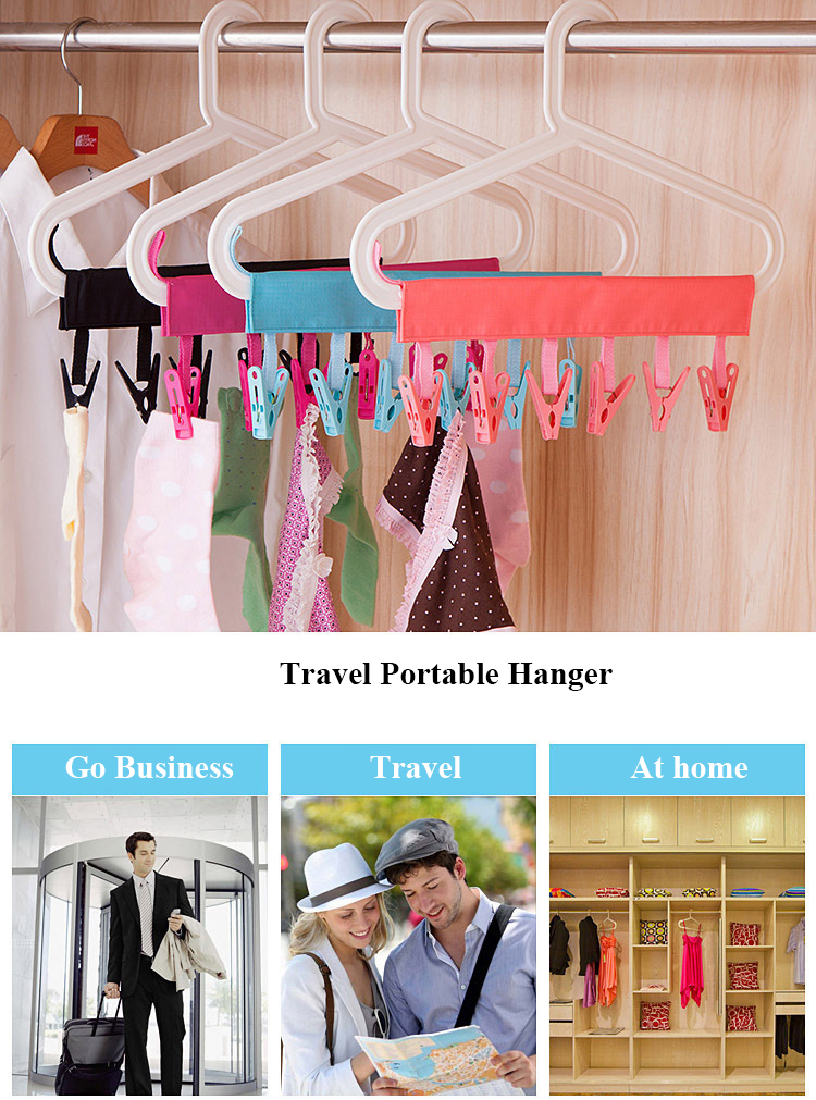 Multi-functional Travel Clothes Hook-Space-Saver Hangers