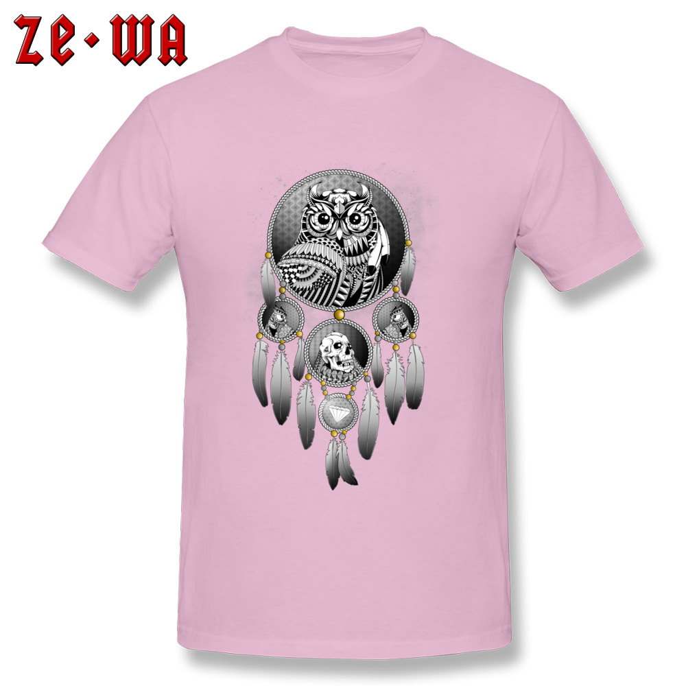 Coupons Bring the Nightmare cosie T-shirts Crew Neck Cotton Mens Tops T Shirt Short Sleeve Summer cosie T-shirts Bring the Nightmare pink