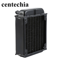 Centechia Water cooling Fan Cool row mini Straight mouth Aluminum Computer Radiator Water Cooling Cooler Fans for CPU Heatsink