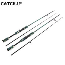 1.8M 1/8-3/4oz Test M Test Carbon Fiber Camouflage Lure Casting Spinning Fishing Rod(China)