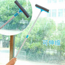 New Arrival Anti-slip Adjustable Long Handle Take Down Glass Sponge Window Cleaner Brush Bathroom Wipers For Car Cleaning Tools