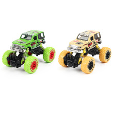 1: 30 Scale Mini Alloy Metal Diecast Car Baby Toys Kids Pull Back Jeep Model Four-Wheel Vehicle Toy for Children Boy Gift
