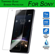 0.26MM 9H 2.5D Tempered Glass Screen Protector For Sony Xperia M2 M4 M5 E1 E3 E4 T3 Z2/Z3/T2/C5 Ultra Cover Protective Film
