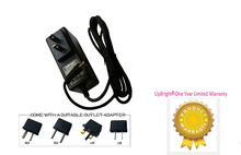 UpBright New 12V AC / DC Adapter For Dynacraft Hello Kitty Pink White SUV Ride On 12 Volt 12VDC (W/Barrel Round Plug Tip)