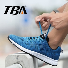 TBA Running Shoes Men Air Mesh Men's Sneakers Breathable Winter Sneakers Top Rubber Flexible Sole Runner Trail Men's Sport Shoes