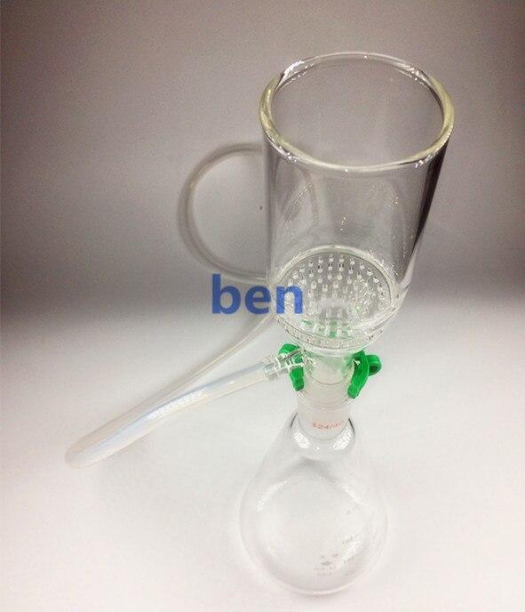 250ml,24/40,Suction Filtration Device,47mm Buchner Funnel &amp; 250ml Litre Erlenmeyer Flask<br>