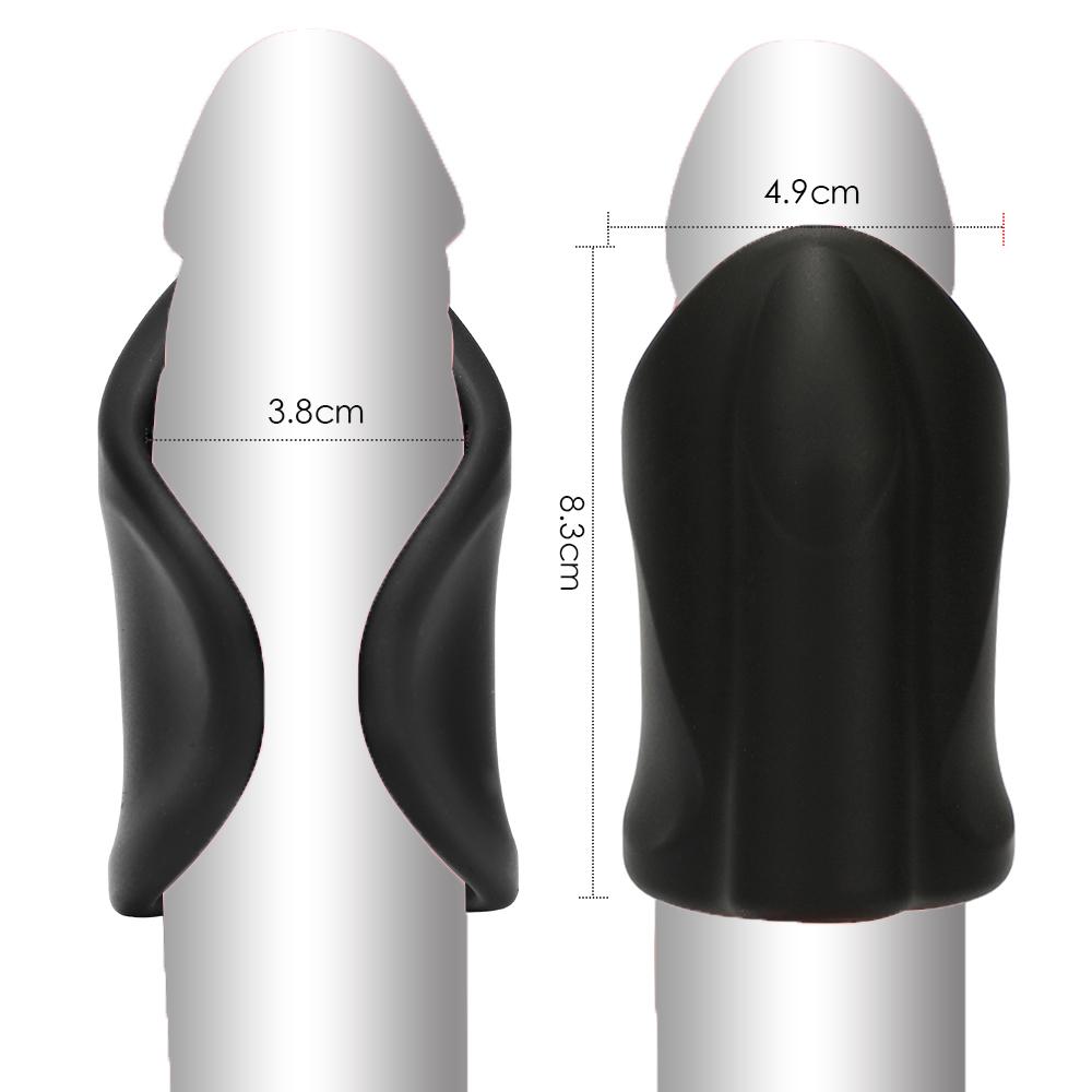 Men Vibrator Penis Trainer Male Masturbator USB Charge Delay Training Glans Vibrator 10 Speed Sex Machine Adult Sex Toys for Men (3)