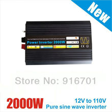 4000W Peak 2000W puhdas sini invertteri Solar Inverter 2000W Pure Sine Wave Inverter DC to AC 220/230/240V Solar Wind Inverter