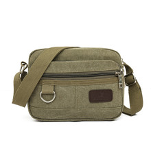 messenger bag men Canvas large Bag vintage high quality Casual Travel Cool Shoulder Bags famous designer brand cheap bags 2017(China)