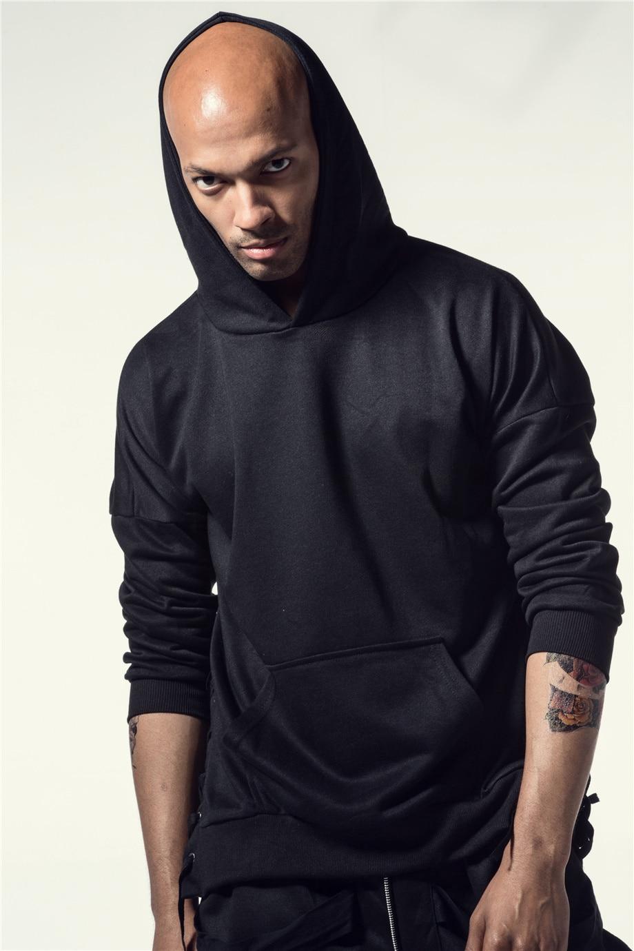 Una Reta Brand New Design Hoodie Men Fashion Sweatshirts Bandage Design Hip-Hop Style Plus Size M-5XL Pullover Sweatshirts Men 10