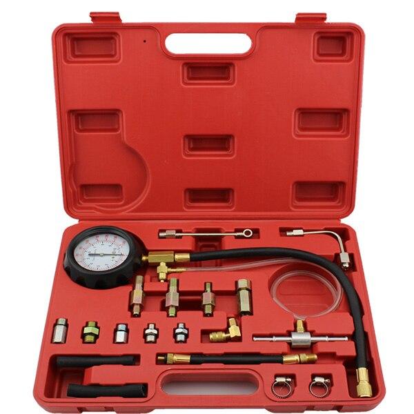 TU-114 Fuel Pressure Gauge Auto Diagnostics Tools For Fuel Injection Pump Tester<br>