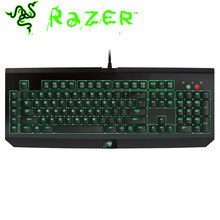 Razer BlackWidow Ultimate Stealth 2014 Mechanical Keyboard Quiet Independent Backlight Button Wired Gaming Keyboards 104 Keys(China)