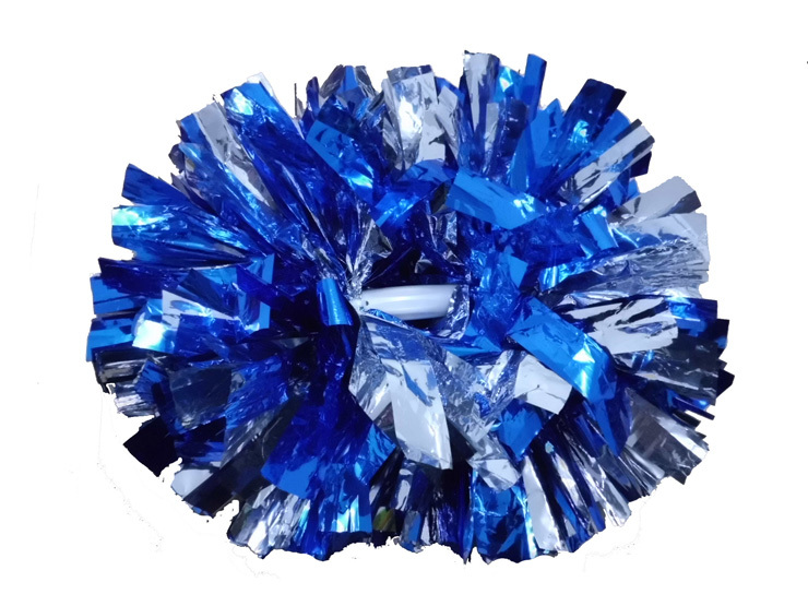 High quality 40CM game pompoms cheering supplies Cheerleader pom poms supplies PVC pompons Color can free combination(China (Mainland))