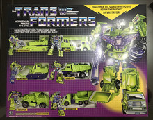 TF G1 Constructicon Warrior Devastator Six Constructicons Action Figure Toy Doll New in Box