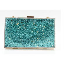Liquid Quicksand Acrylic Women Evening Clutch Bag Chain Shoulder Handbags Crossbody Hardcase Clutches Wedding Party Prom Purse