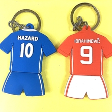 Miniverse 2016-17 Season Soccer Star Hazard Ibar United Club Jersey Kit Doll Accessories Red Blue Christmas Gift