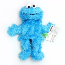25 cm high quality Sesame street toy Elmo Big Bird Cookie Monster hand puppet doll Educational plush toy for children XMAS gift